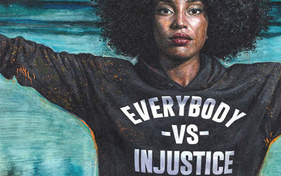 EVERYBODY VS INJUSTICE - Tim Okamura's Limited Editions
