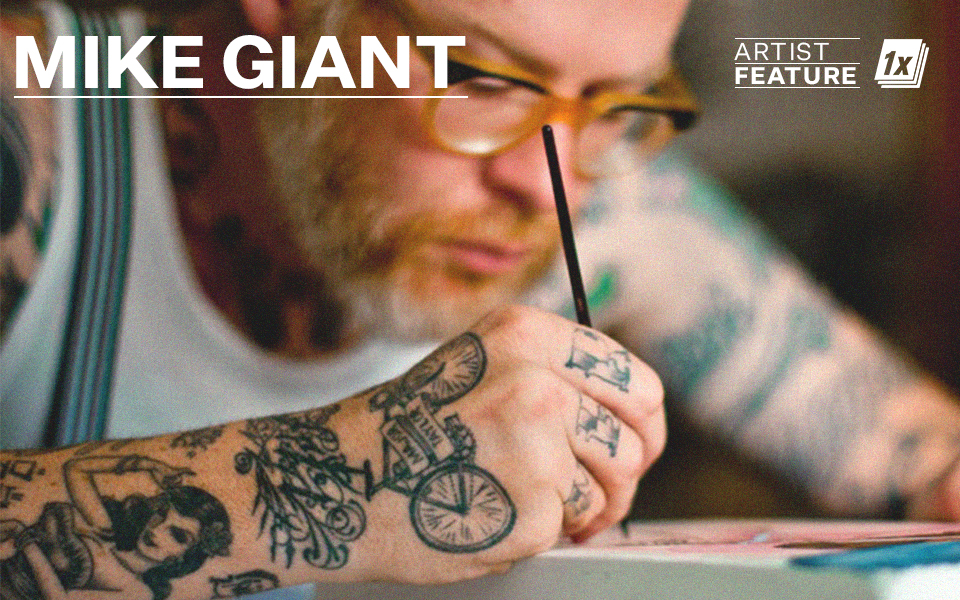 Mike Giant - Elevating Tattoo Flash to Fine Art