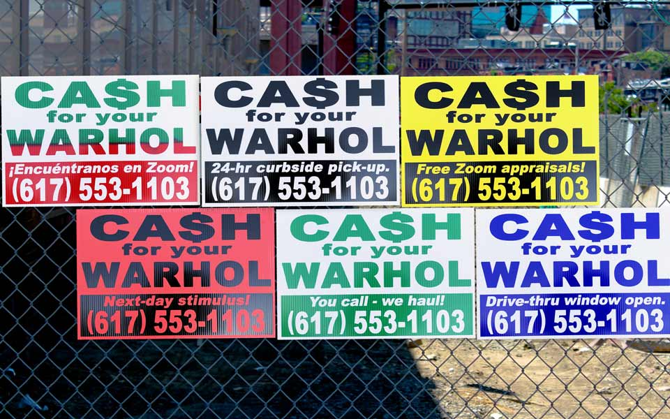 Cash For Your Warhol - CFYW-19