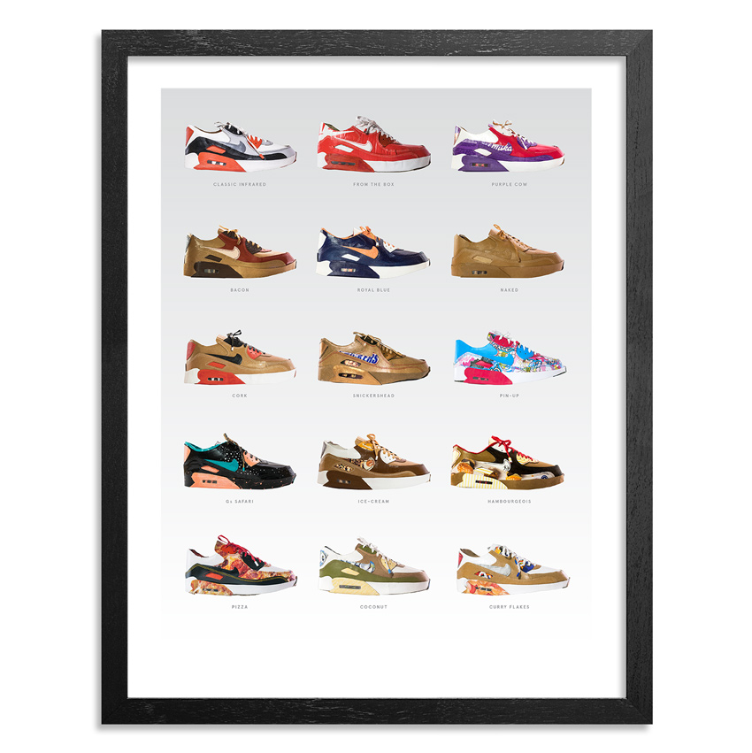Smoluk Art Print - Air Max 90s - Limited Edition Prints