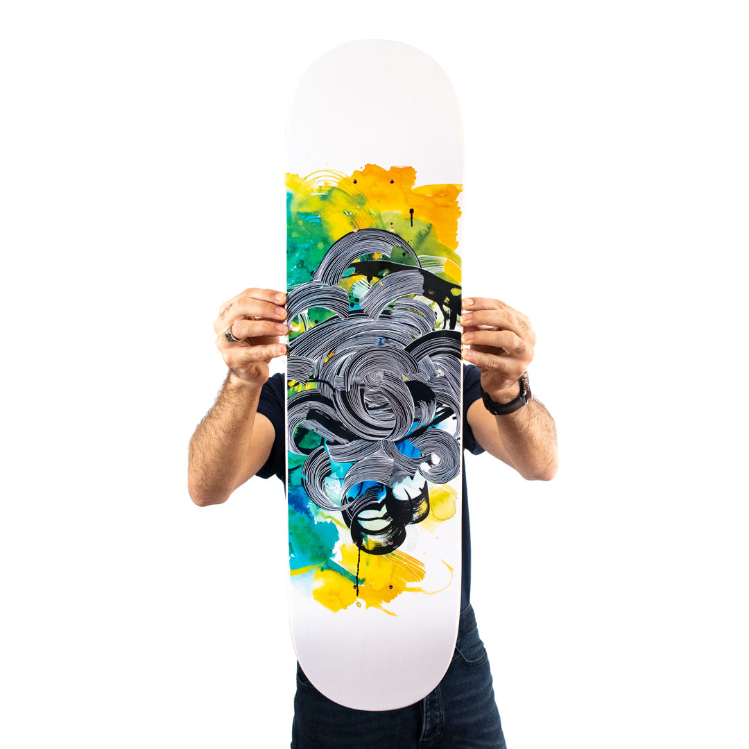 Brandon Boyd Art Print - Alliance - Skate Deck Variant