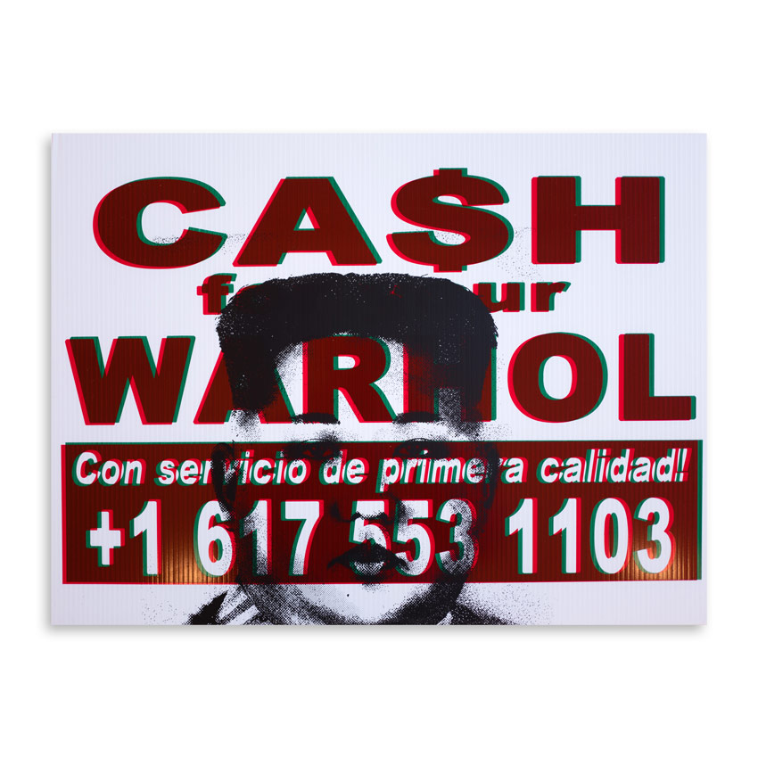 Cash For Your Warhol Art Print - CFYW x Kim.01