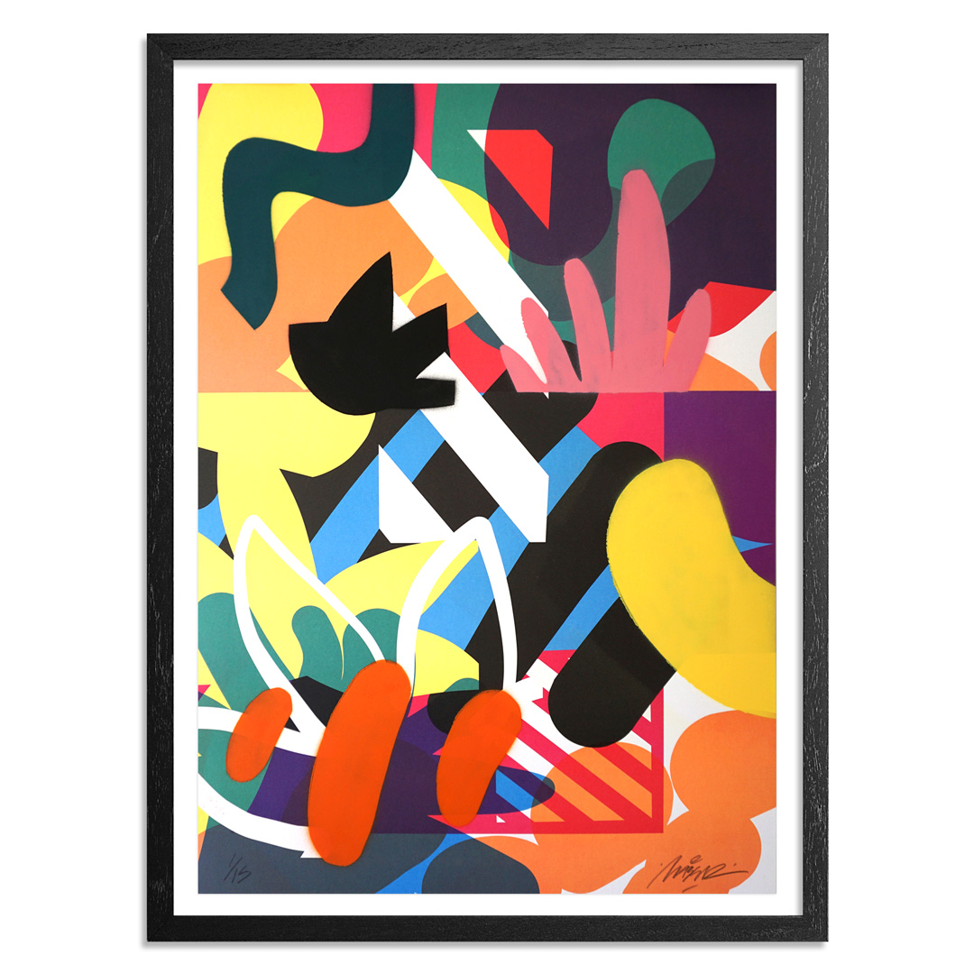 Maser Art Print - 1 of 15 - Habitats - Hand-Painted Edition