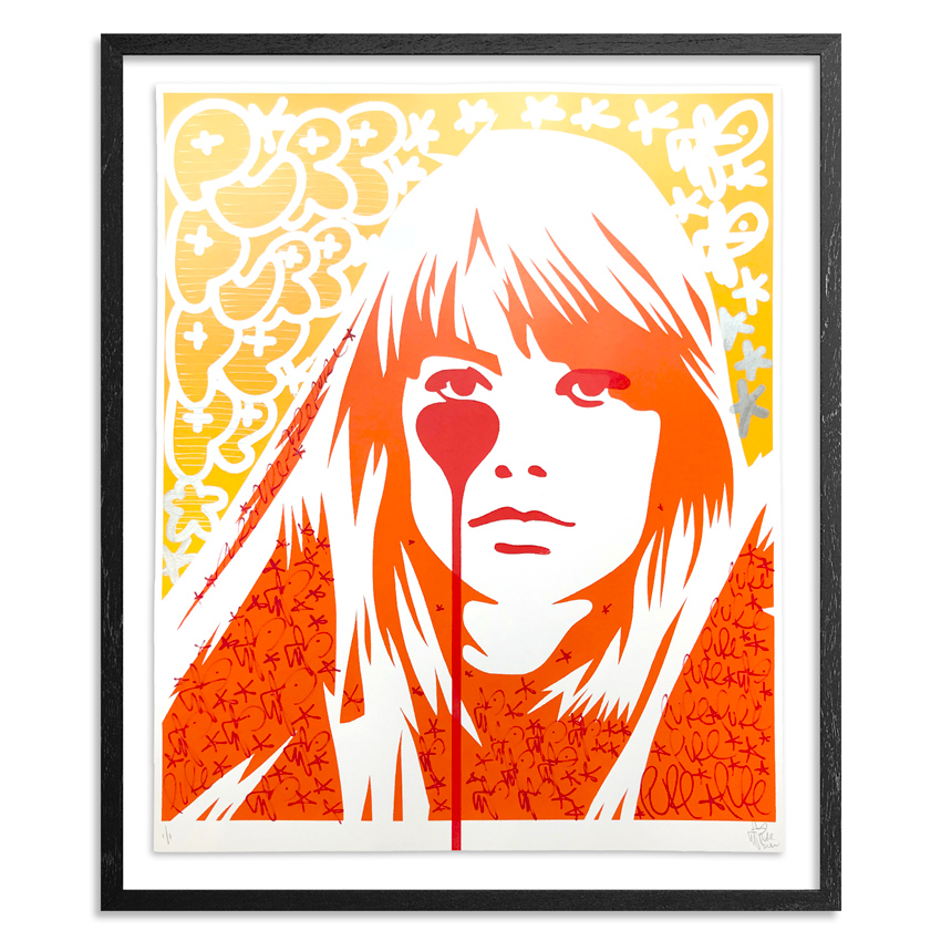 Pure Evil Art - 02 Hand-Finished Variant - Françoise Hardy - Jacques Dutronc's Nightmare - Endless Summer Edition