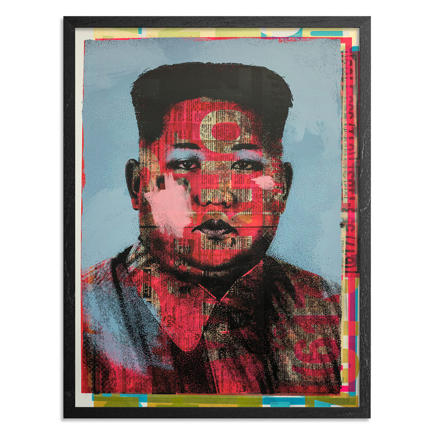 Cash For Your Warhol Art Print - Monoprint II - CFYW Kim Jong-un