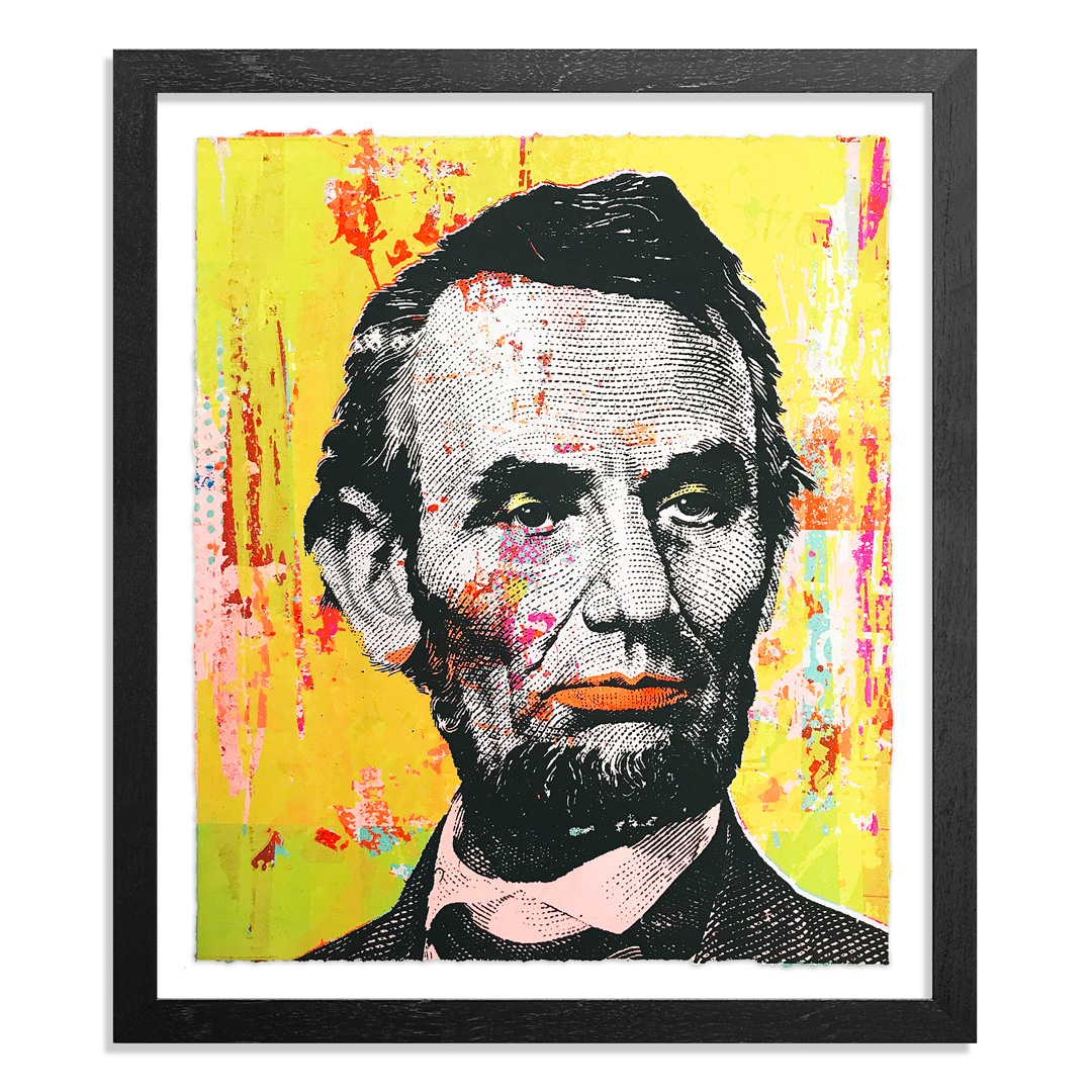 Greg Gossel Art Print - Honest Abe - 2