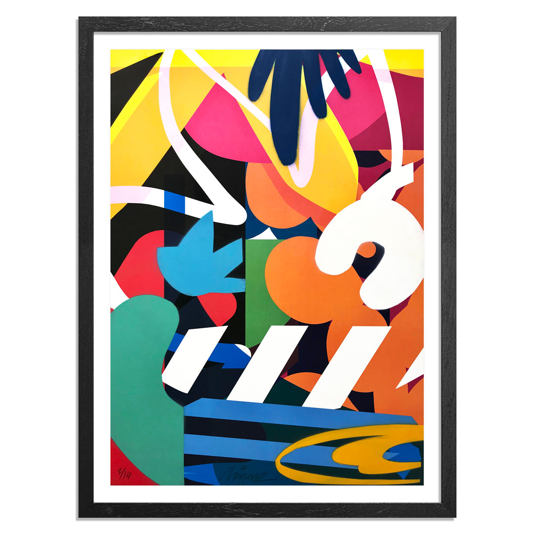 Maser Art Print - 2 of 14 - Habitats II - Hand-Painted Edition