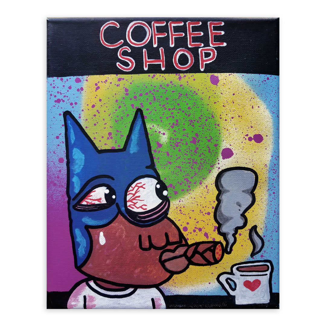 Noxer 907 Original Art - Original Artwork - The Coffee Shop