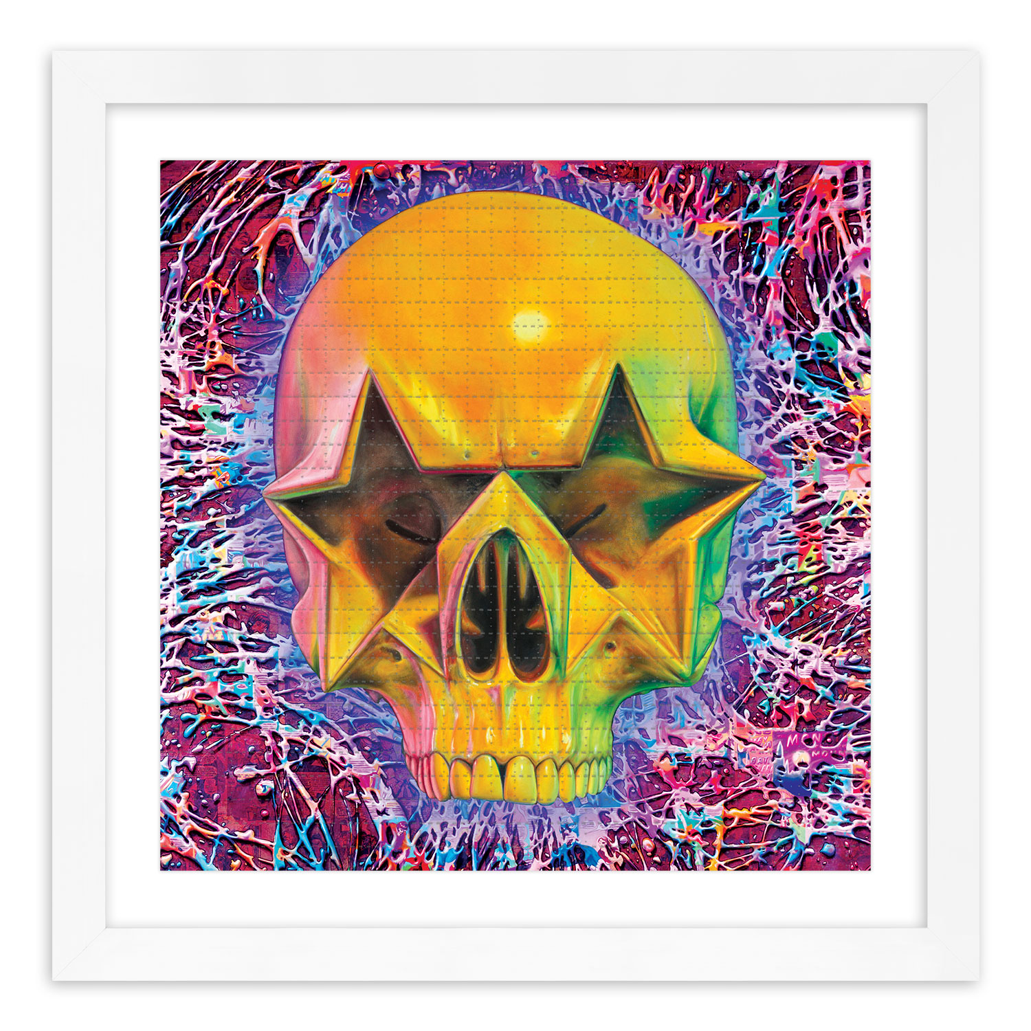 Ron English Art Print - Starskull - Blotter Edition