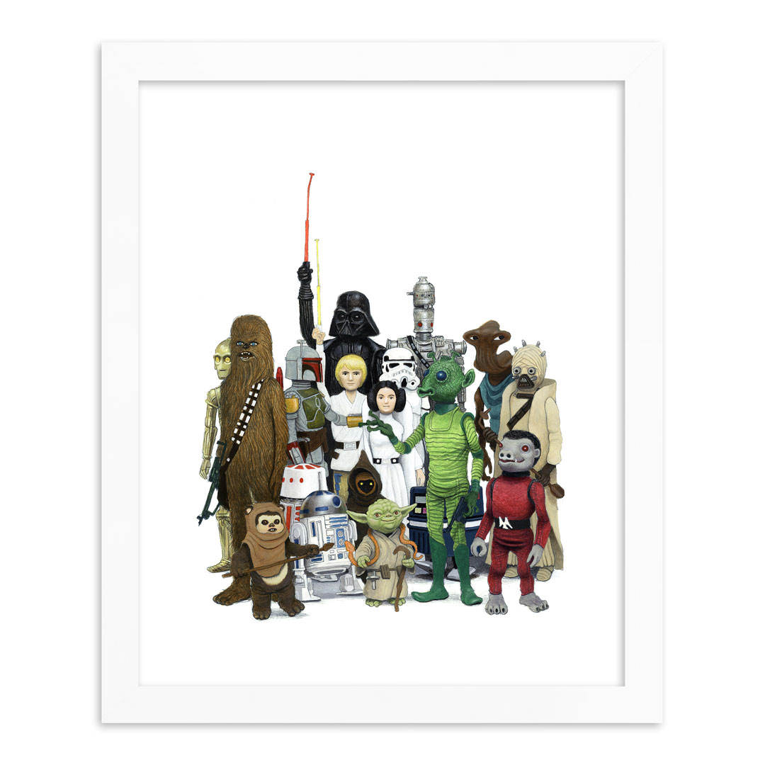 Matt Gordon Art - Vintage Star Wars - Limited Edition Prints