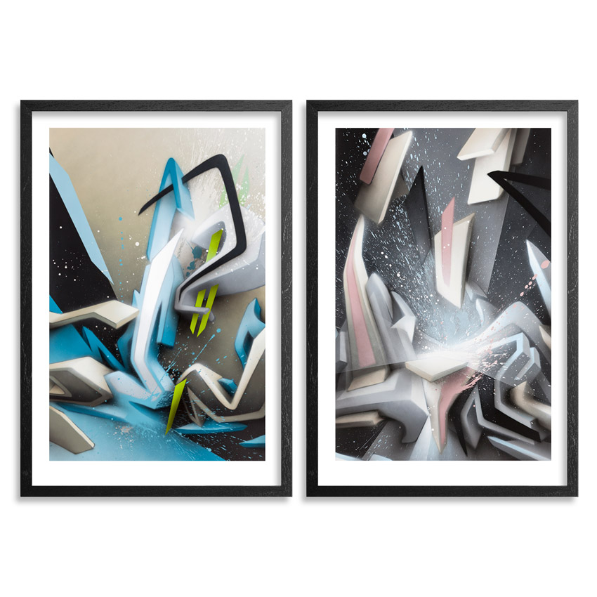 Daim Art Print - 2-Print Set - $? IV + Shining Splashes