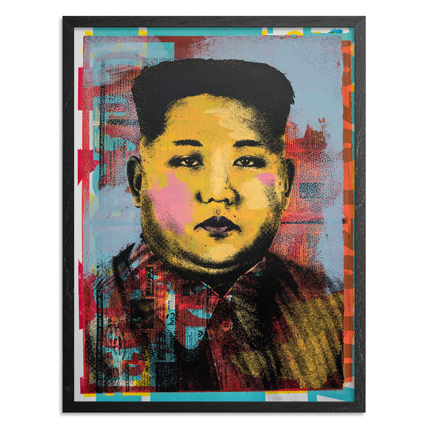 Cash For Your Warhol Art Print - Monoprint V - CFYW Kim Jong-un