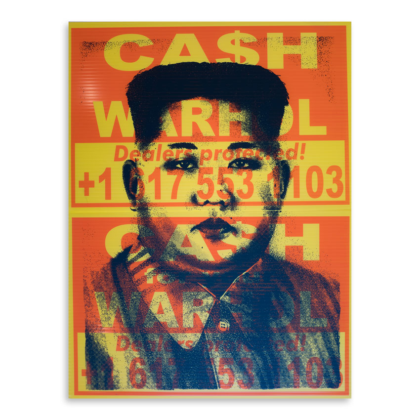 Cash For Your Warhol Art Print - CFYW x Kim.05