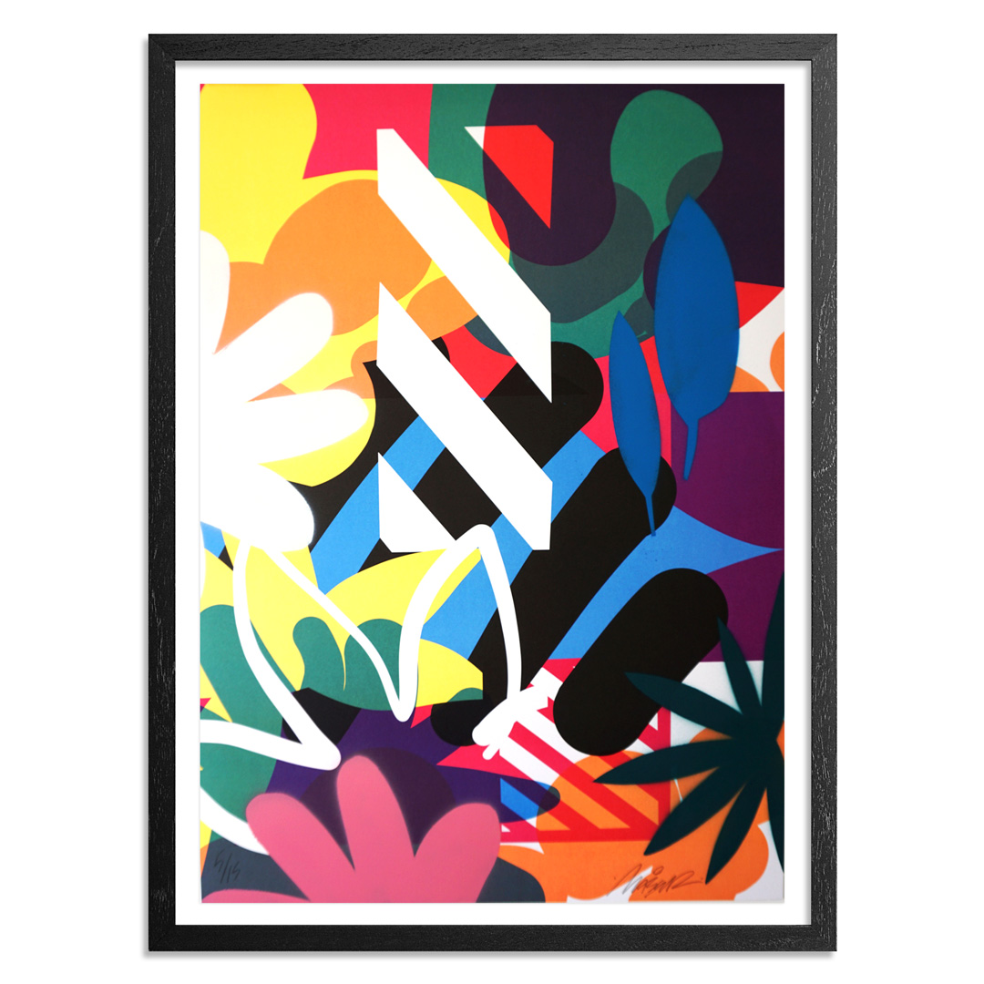 Maser Art Print - 5 of 15 - Habitats - Hand-Painted Edition