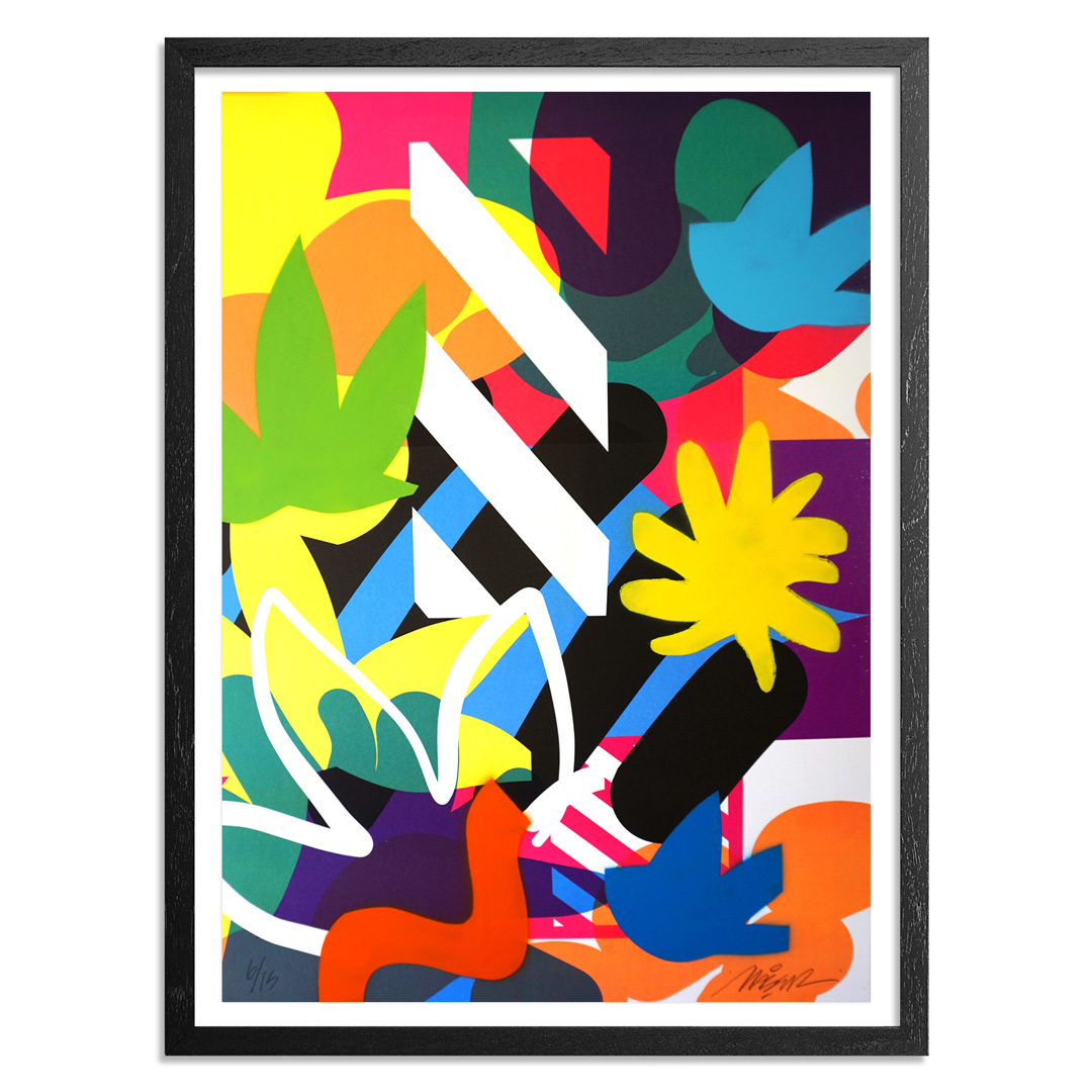 Maser Art - 6 of 15 - Habitats - Hand-Painted Edition