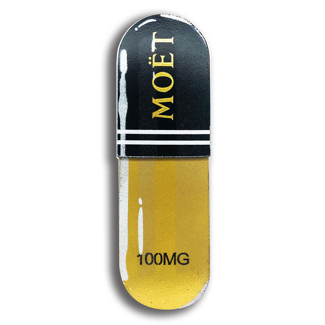 Denial Art - Moet - Mini Pill