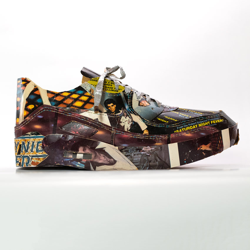 Smoluk Art - Air Max 90 - Disco - Original Artwork