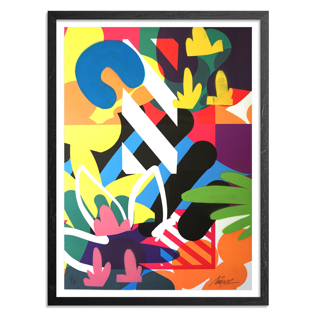 Maser Art Print - 7 of 15 - Habitats - Hand-Painted Edition