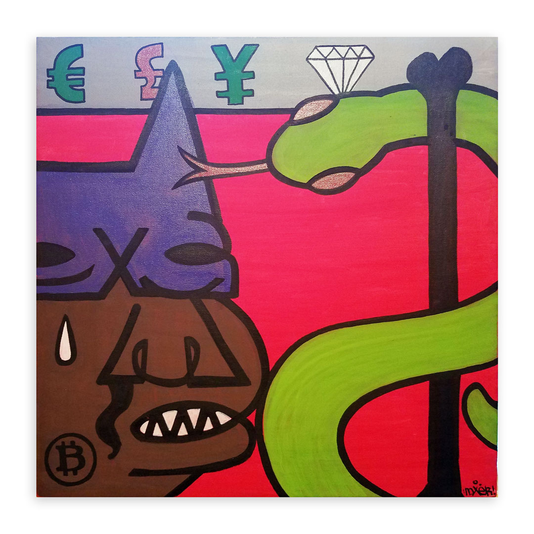 Noxer 907 Original Art - Original Artwork - Moneytalks