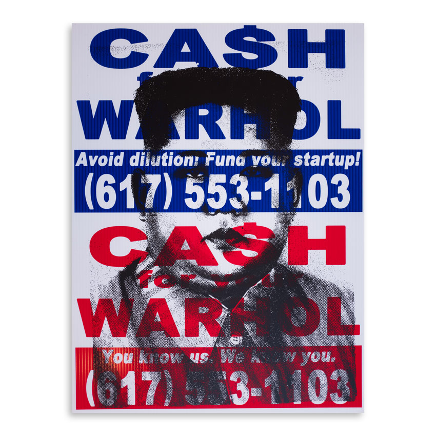 Cash For Your Warhol Art Print - CFYW x Kim.08