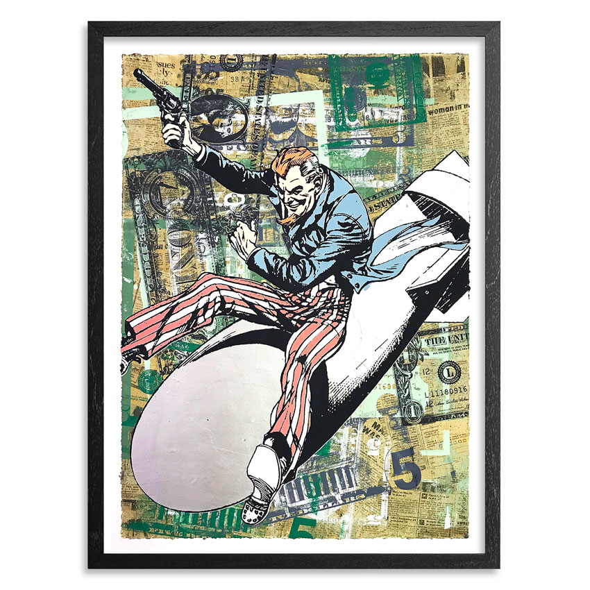 Greg Gossel Art - Funny Money 2-8
