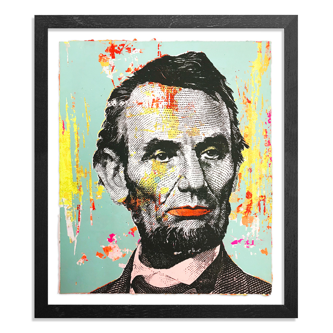 Greg Gossel Art Print - Honest Abe - 8