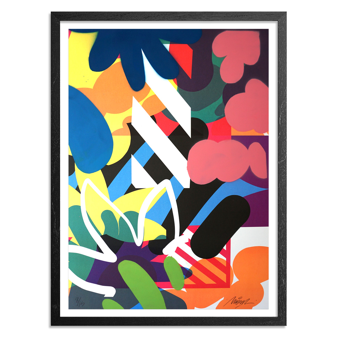 Maser Art Print - 8 of 15 - Habitats - Hand-Painted Edition
