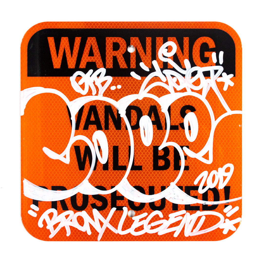 Cope2 Original Art - Vandals Will Be Prosecuted - III
