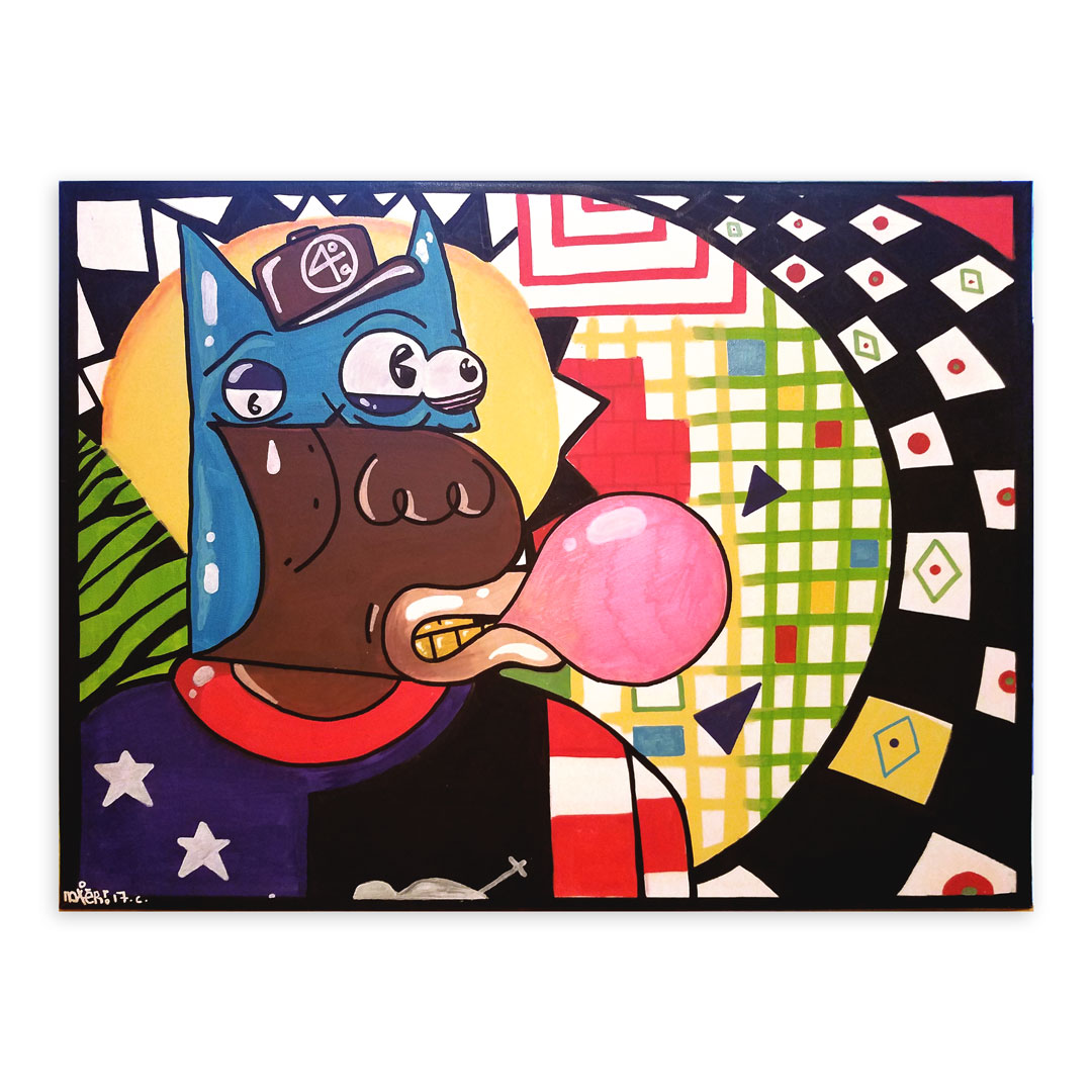 Noxer 907 Original Art - Original Artwork - WHTS POP'N