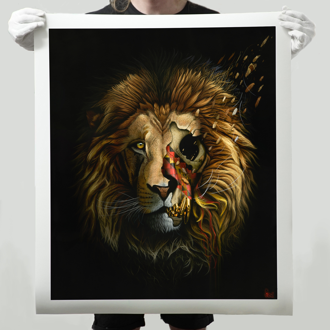Sonny Art Print - Mandla - Limited Edition Prints