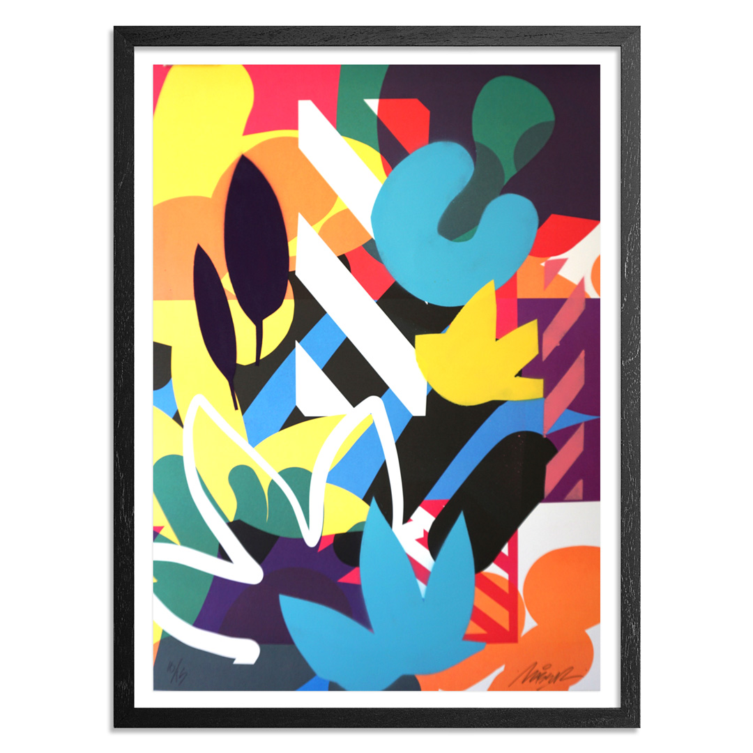Maser Art Print - 10 of 15 - Habitats - Hand-Painted Edition