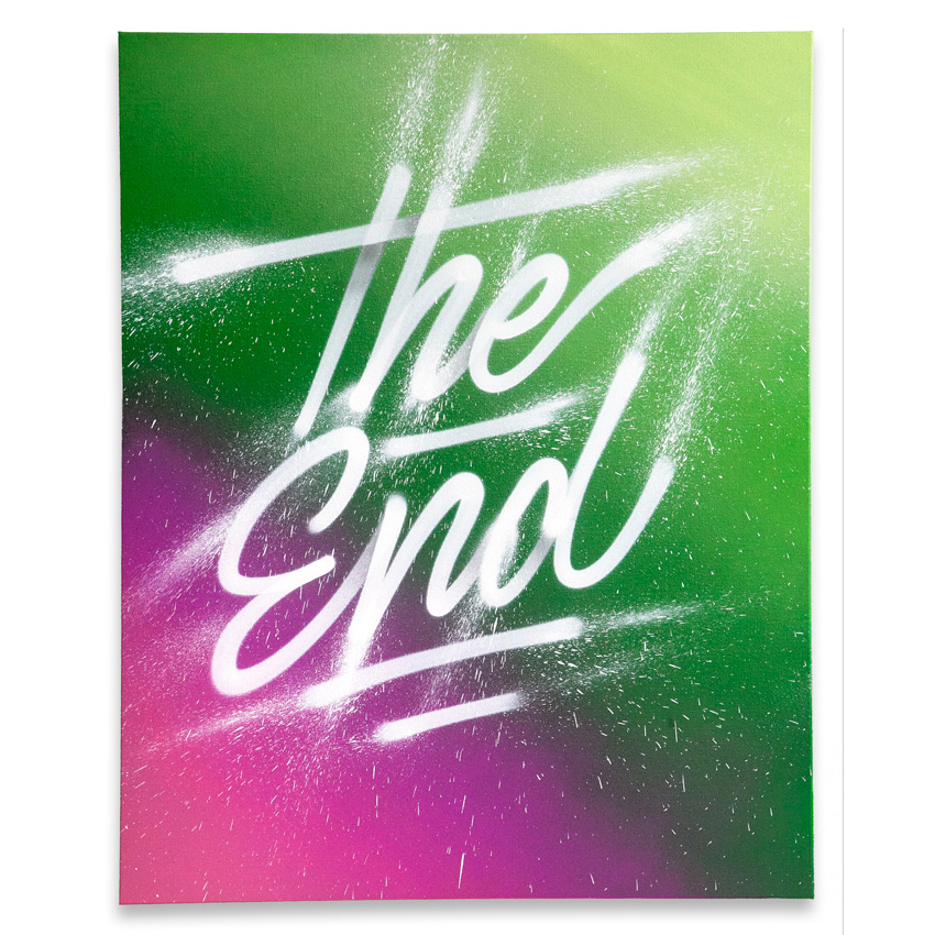 It's A Living Original Art - The End - Original Artwork