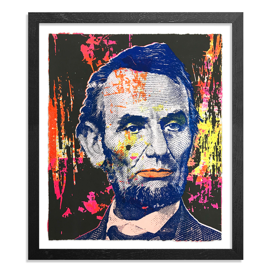 Greg Gossel Art Print - Honest Abe - 12