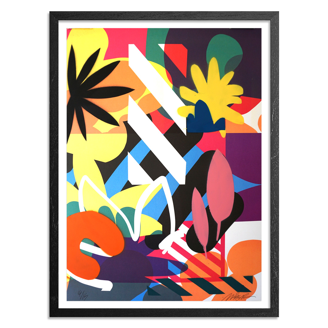 Maser Art Print - 14 of 15 - Habitats - Hand-Painted Edition