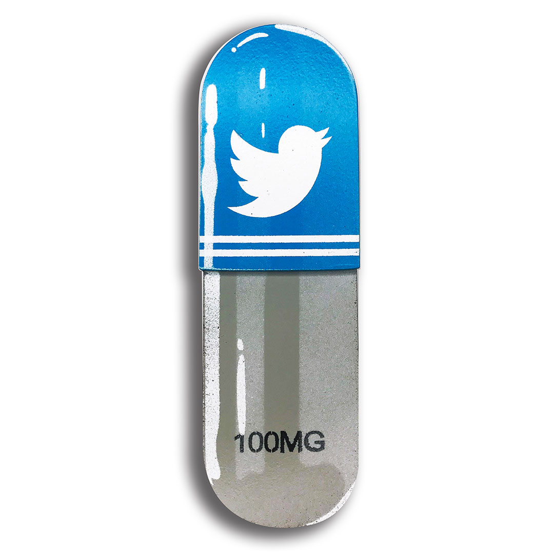 Denial Art - Twitter - Mini Pill