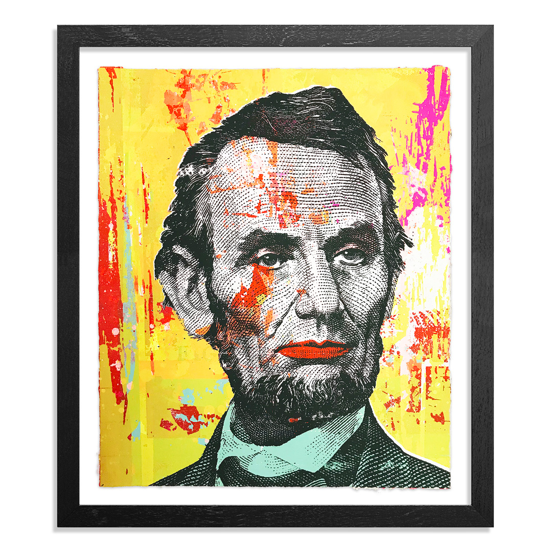 Greg Gossel Art Print - Honest Abe - 18