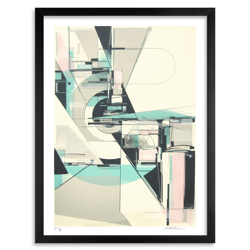Augustine Kofie Art Print - Circulate System Shift