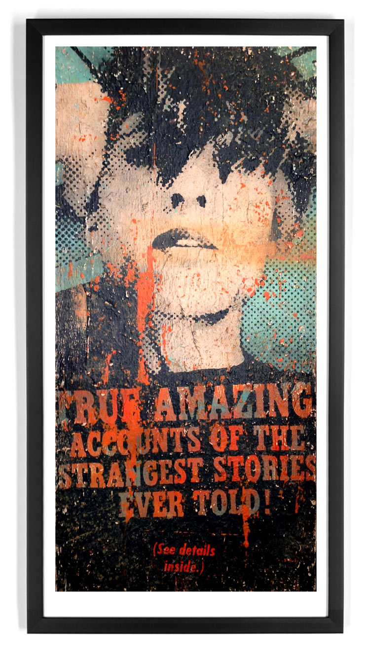 Bask Art - Amazing Accounts - Standard Edition - Framed