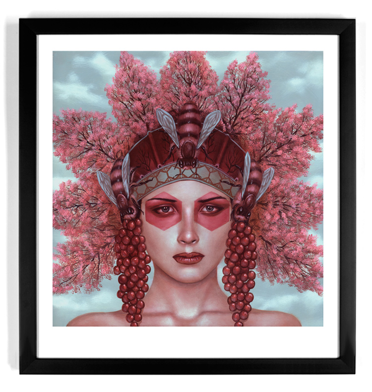 Casey Weldon Art Print - Sweet Bee