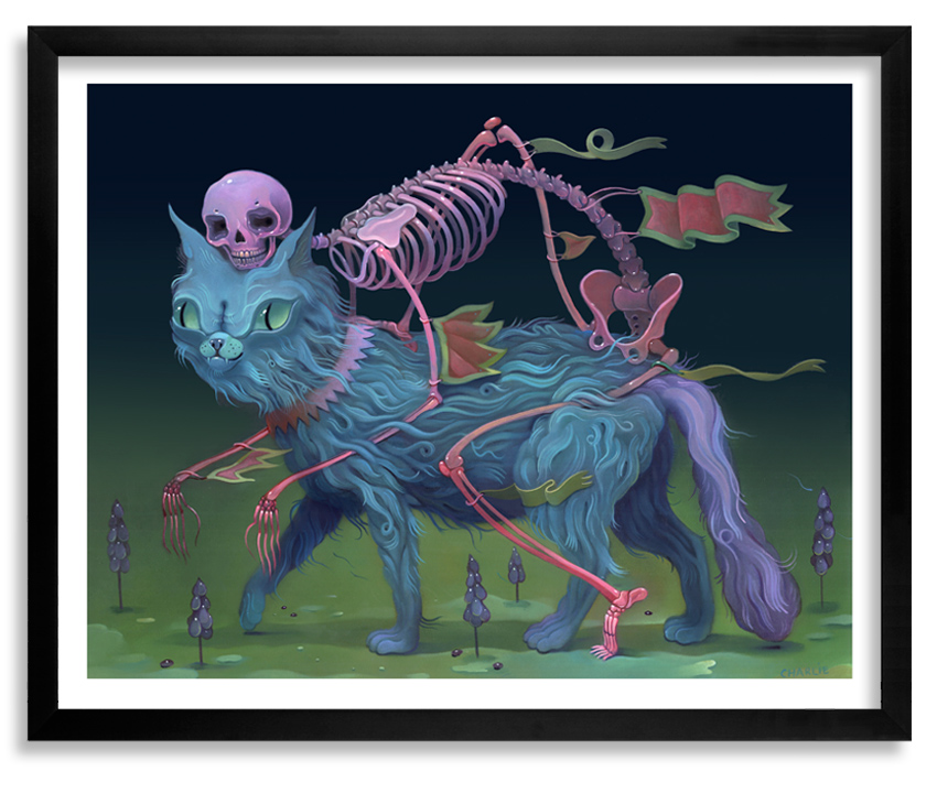 Charlie Immer Art Print - The Bone Guide - Limited Edition Prints