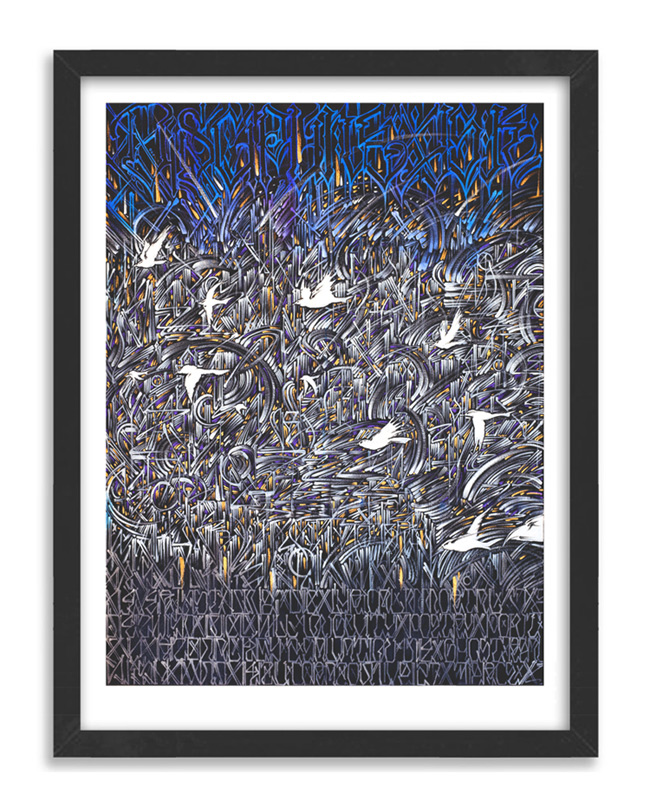 Defer Art - Spiritual Migration - Limited Edition Prints Framed