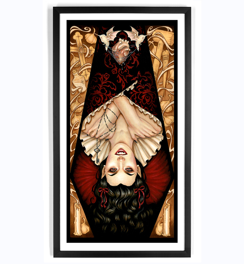 Glenn Arthur Art Print - All Heart, No Soul
