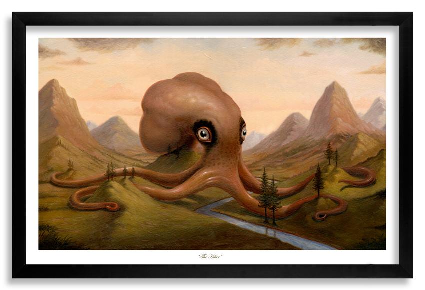 1xrun Collections The Hiker Original Artwork By Scott Musgrove