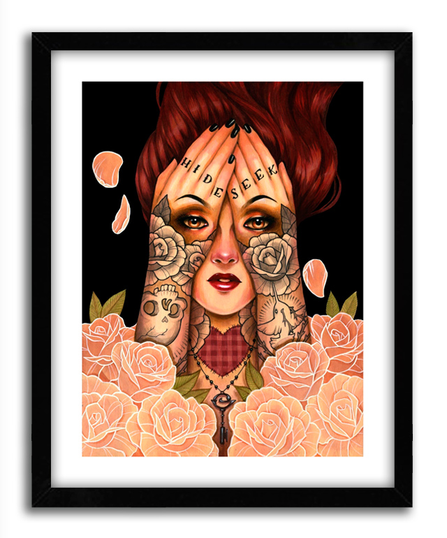 Glenn Arthur Art Print - Hide And Seek