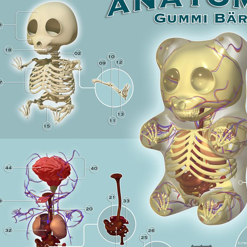 Jason Freeny Art Print - Anatomie | 1xRUN