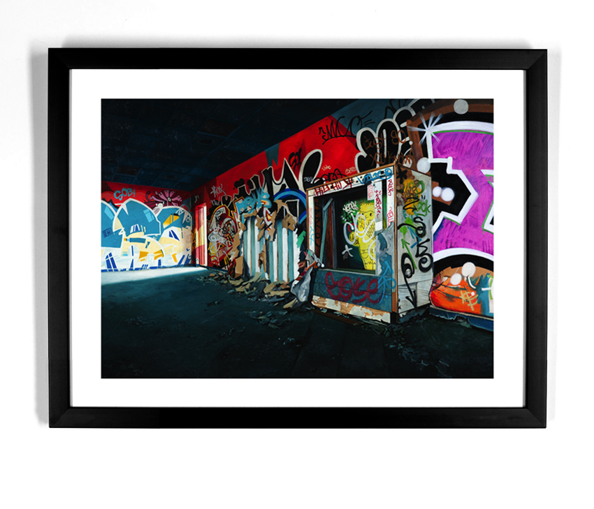 Jessica Hess Art - Providence Playground - Standard Edition Framed