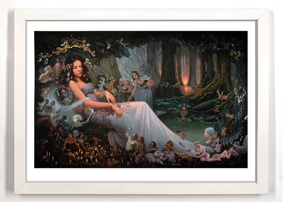 Mia Araujo Art Print - Death Of A Forest - Hand-Embellished Edition