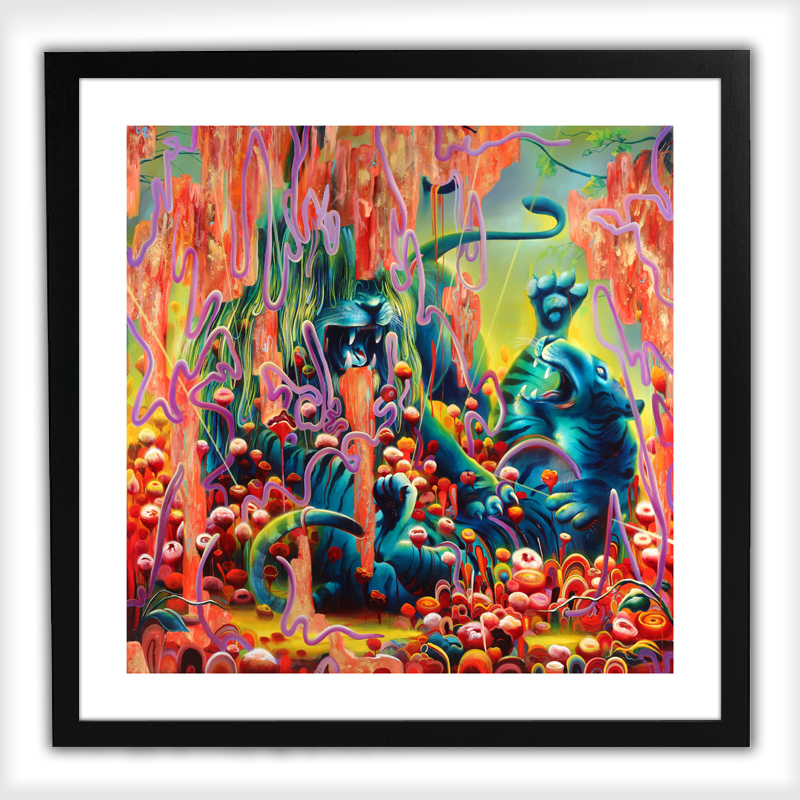 Michael Page Art Print - Odin's Protector