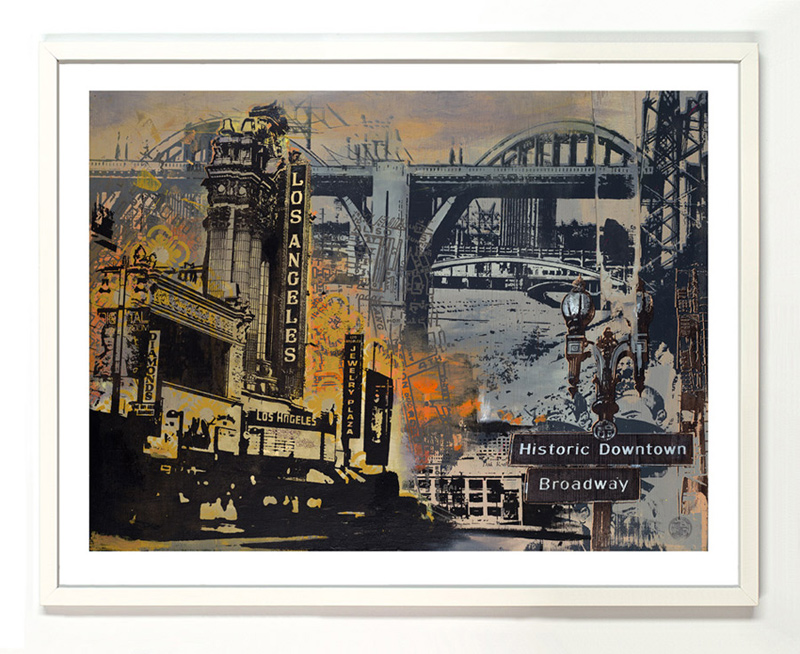 Ryan Graeff Art Print - Historic Downtown Los Angeles - Prints