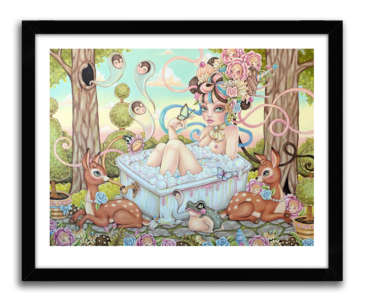 Rudy Fig Art Print - Delusions of Loneliness - Limited Edition Prints